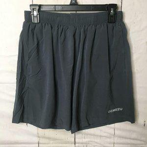 DEMOZU Men's 5 Inch Quick Dry Running Shorts S NWT